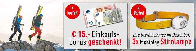 [Intersport] 15€ Gutschein bei Newsletteranmeldung