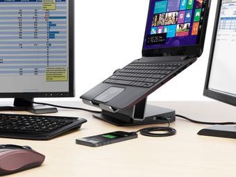 iBood: Belkin USB 3.0 Dual Video Dockingstation mit erhöhtem Loft-Stand für 75,90€