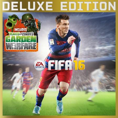 [PSN] PS4: FIFA 16 (Deluxe Edition) + Plant vs. Zombies Garden Warfare für 34,99€ - Ersparnis: 60%