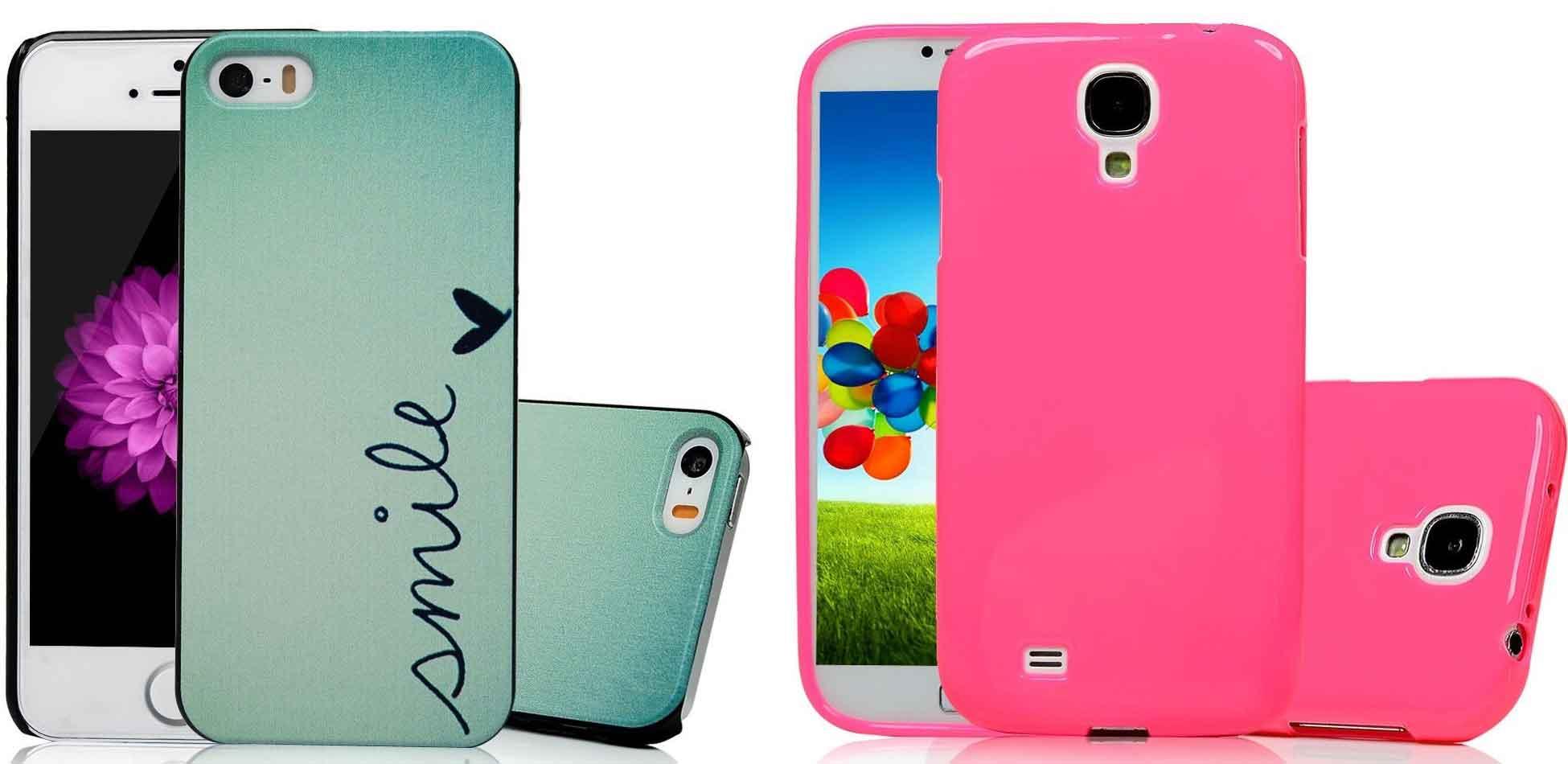 Iphone 5 & Samsung S4 mini Hülle @Amazon Prime 3,99€