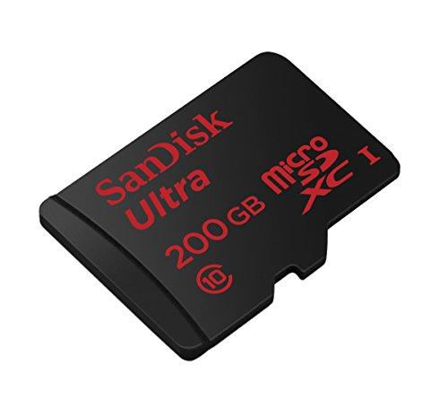 SanDisk Ultra microSDXC (200 GB) um 91 € - bis zu 19% sparen