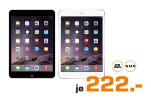 Apple iPad Mini 2 16GB grau/weiß @ Saturn 6-9 Uhr Shopping