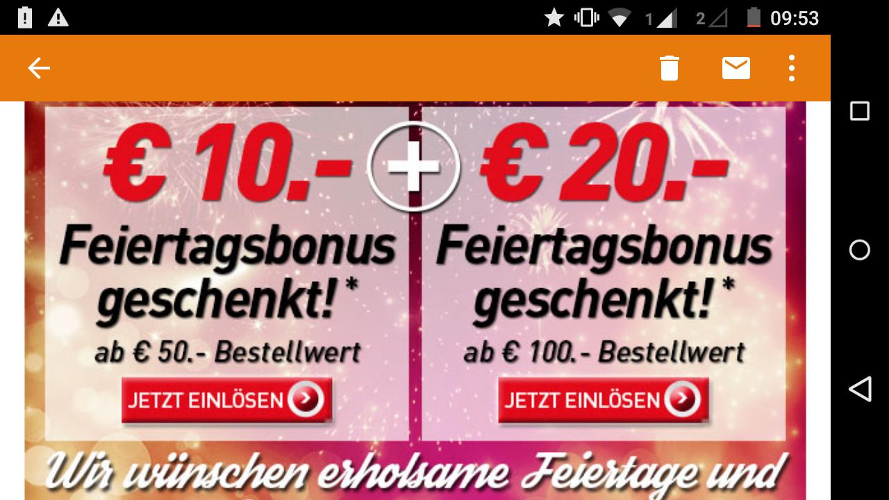 [Intersport] 10€ bzw. 20€ Rabatt - bis zu 20% Ersparnis!
