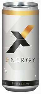 EnergyX - Energy Drink (24 x 0,25l = 33 Cent/Dose) um 7,99 € bei Amazon