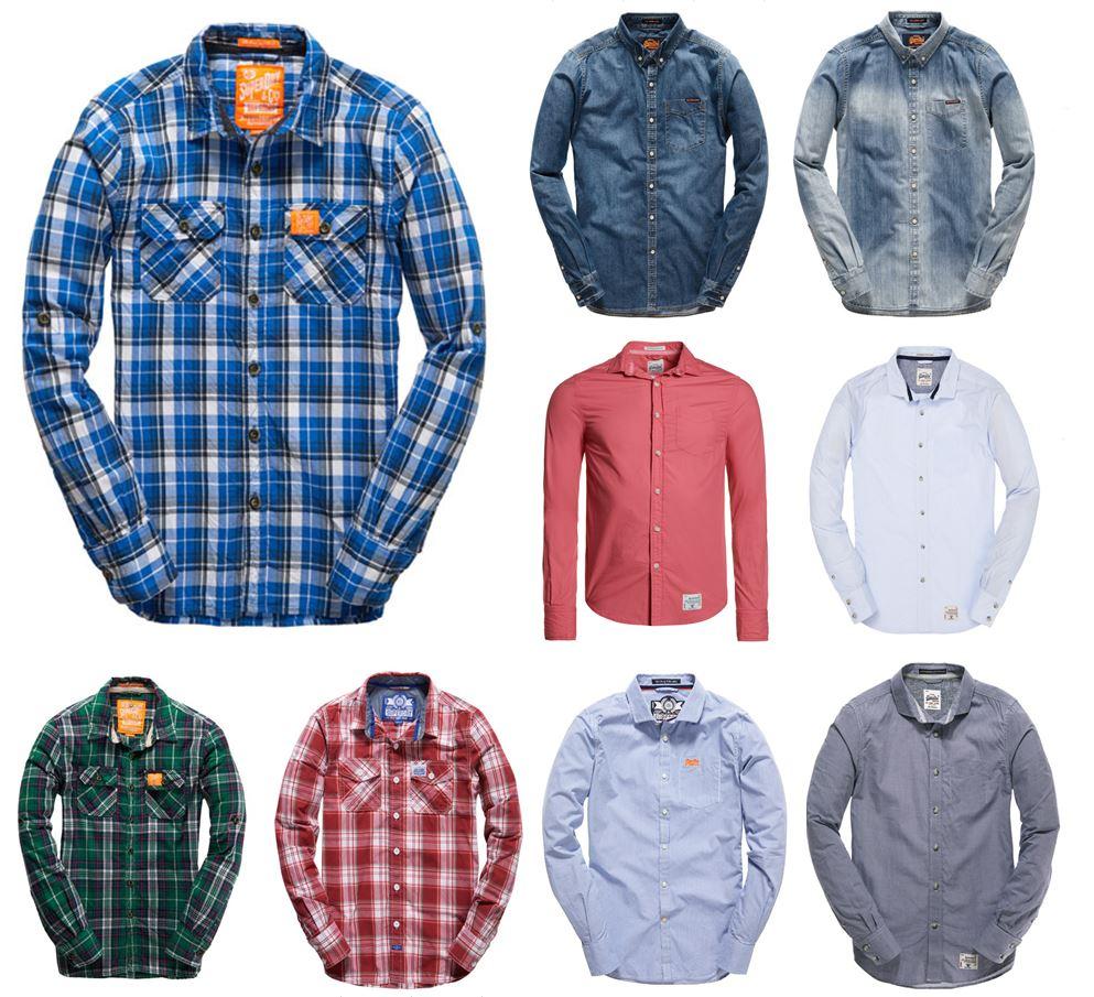 eBay Österreich: SuperDry Hemden um 19,99 € inkl Versand