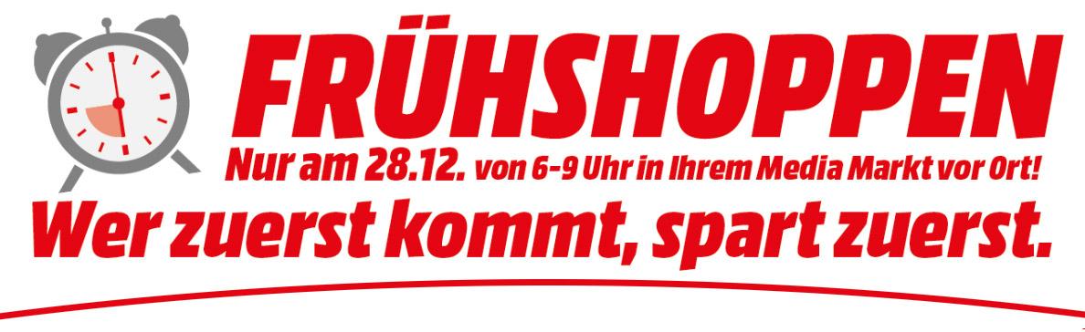 Mediamarkt > Frühshoppen von 6-9 Uhr