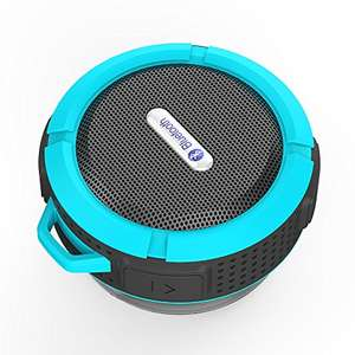 Bluetooth Lautsprecher mit Saugnapf wasserdicht, staubdicht, stoßfest, mit Freisprechfunktion für Smartphones & Co. -- AMAZON