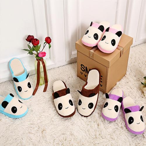 Preisfehler? Süße Karikatur-Panda Hausschuhe aus Baumwolle - Für nur 2,84€ inkl. Versandkosten