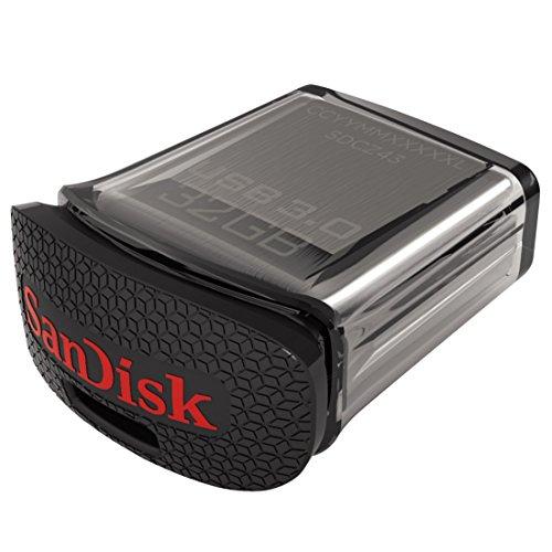 """SanDisk """"Ultra Fit"""" USB 3.0 Stick (32 GB) um 10,50 € - bis zu 29% sparen"""