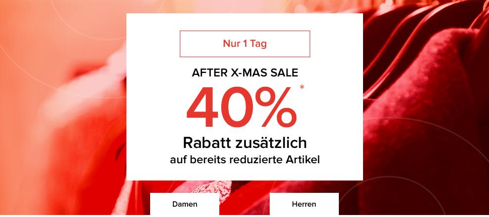 dress-for-less: 40% Rabatt auf reduzierte Ware + 10% Newsletter-Rabatt - nur heute gültig!