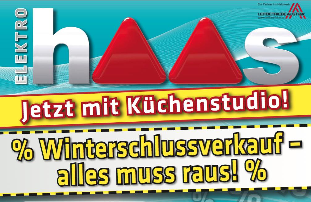 Elektro Haas: Winterschlussverkauf mit guten Angeboten - nur bis zum 2. Januar 2016