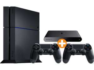 [Saturn.at] PS4 500GB (CUH-1216) + 2 Controller + Playstation TV für 355€