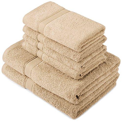 Pinzon Handtuchset (2 Bade-, 4 Handtücher) um 16,50 € - bis zu 62% sparen