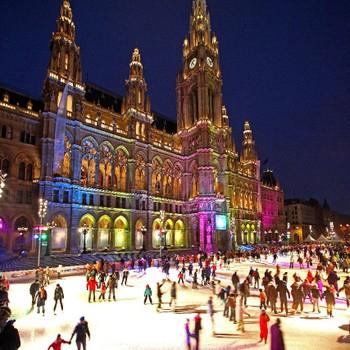 Wiener Eistraum: Kostenlos Eislaufen am Rathausplatz am 21. Jänner ab 19:00 Uhr