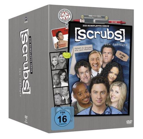 [Amazon.de] Scrubs: Die Anfänger - Die komplette Serie, Staffel 1-9 (31 DVDs) für 37,97€