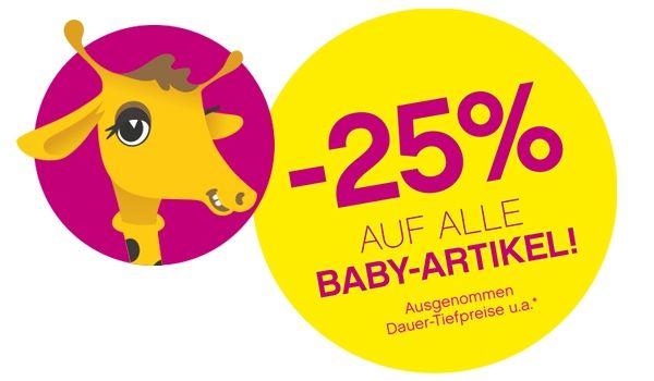 """""""Baby-Days"""": 25% Rabatt auf (fast) alle Baby Artikel - bis 10.2.2016"""