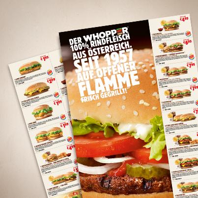 Neue Burger King Gutscheine - endlich wieder zum Downloaden und Ausdrucken ;)