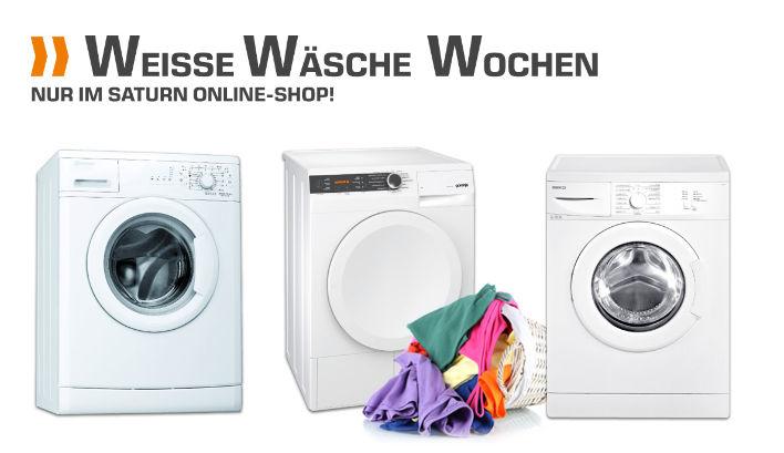 [Saturn] Weiße Wäsche Wochen - Waschmaschinen und Trockner mit bis zu 33% Ersparnis