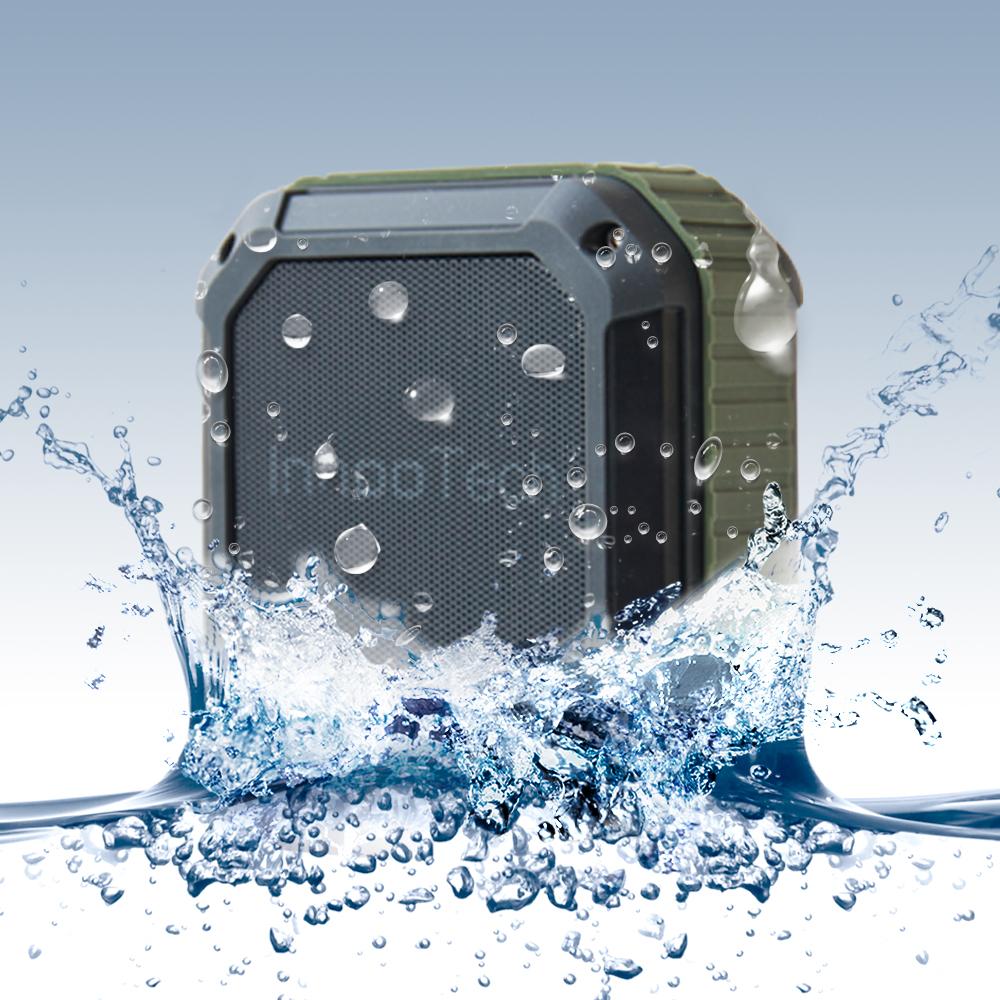 [Amazon] InnooTech Wasserdichter Bluetooth Lautsprecher 12,99€ mit Prime, geeignet für Outdoor / Dusche