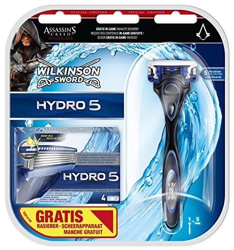 [Amazon.de] Wilkinson Sword Hydro 5 Vorteilspack. 5 Klingen + Rasierer für 7€