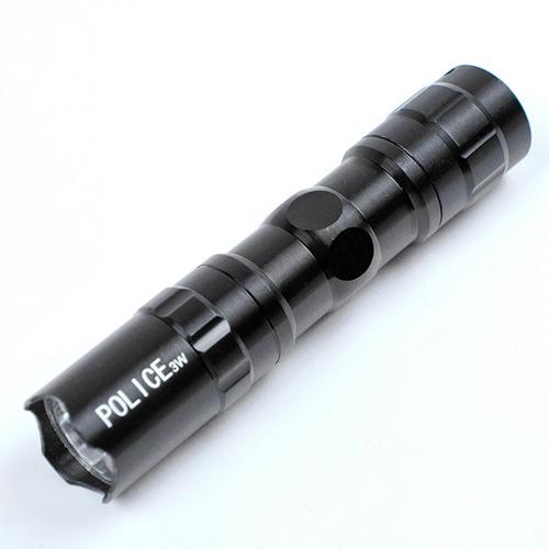 Mini tragbare LED-Taschenlampe schwarz -  Für nur 1,89€ inkl. Versandkosten