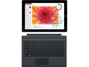 Microsoft Surface 3 LTE (64 GB) + Type Cover um 599 €
