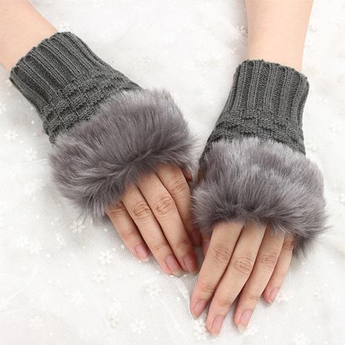 Strickhandschuhe (Wolle/Kunstpelz) für 2,84€ inkl. Versandkosten