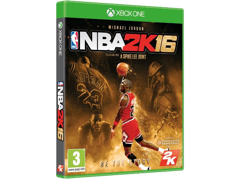 NBA 2k16 Michael Jordan Edition um 35€ inklusive Versand