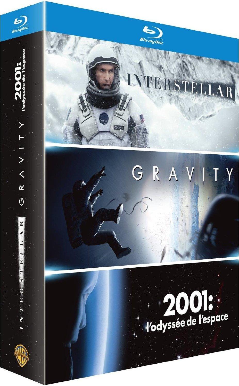 Interstellar + Gravity + 2001: Odyssee im Weltraum (Blu-ray) für 15,84 EUR inkl. Versand