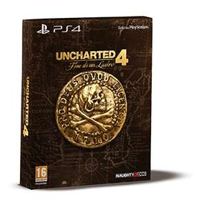 [Amazon.it] Uncharted 4 ( PS4) Special Limited Edition für 64€ ( bzw 54€) vorbestellen