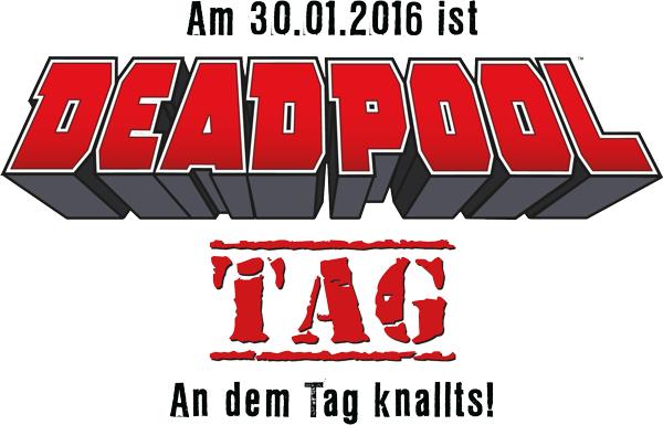 Deadpool Tag am 30. Jänner - Gratis Maske + Comic in ausgewählten Comicshops