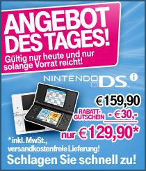 Nintendo DSi für 130€