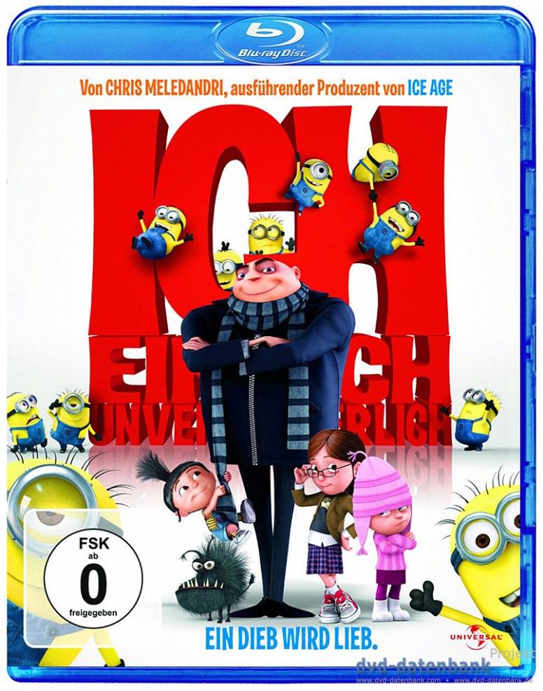 Ich, einfach unverbesserlich Bluray für 3 Euro, gute Animationsfilme für 5