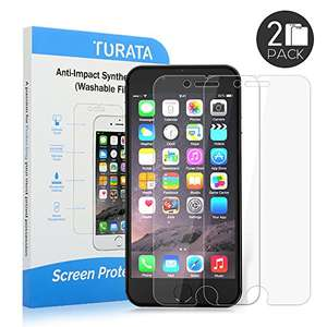 0.25mm iPhone 6/6S Plus Schutzfolie 4,99€ @Amazon Prime