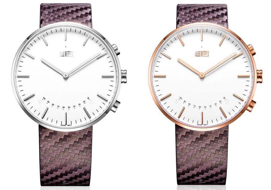 €114 OFF Elephone ELE W2 Smart Watch Bluetooth Watch Swiss Ronda Movement for Smartphone