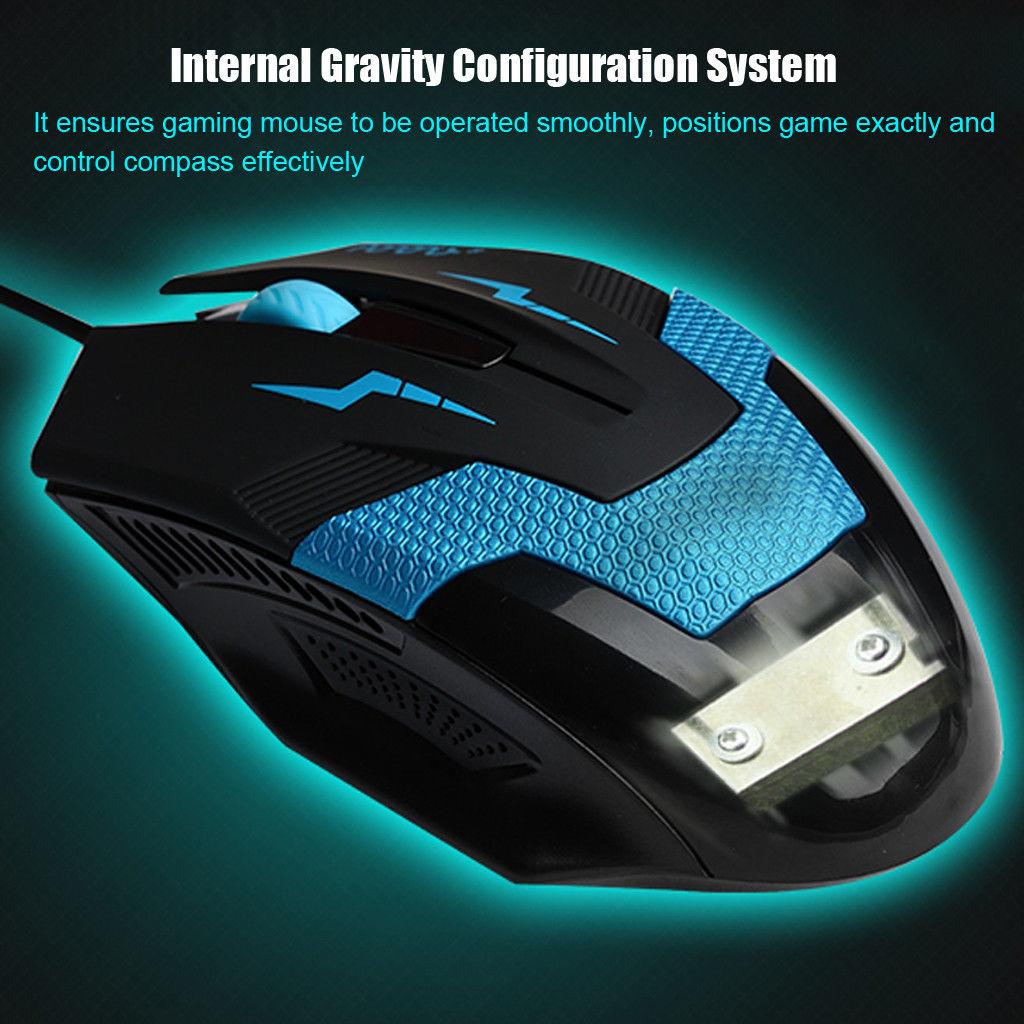 Schnell! Gamer-Mouse 1600dpi USB für nur 1€ inkl. Versand