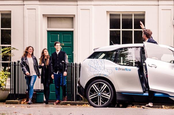 DriveNow Freunde werben und 30, 45, 60 Freiminuten erhalten