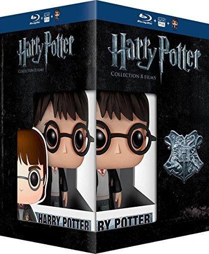 Harry Potter Komplettbox + Figur (Blu Ray)