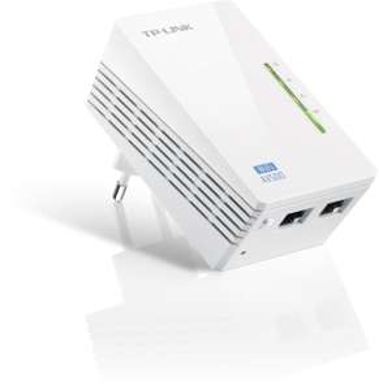Jetzt Blitzangebot! 28% Off!  TP-Link TL-WPA4220 AV500 Wifi Powerline Netzwerkadapter (500 Mbit/s, Ergänzung, 2x LAN Port, Powerline WLAN, WLAN Repeater, Verstärker, WiFi Move, Kompaktgehäuse)