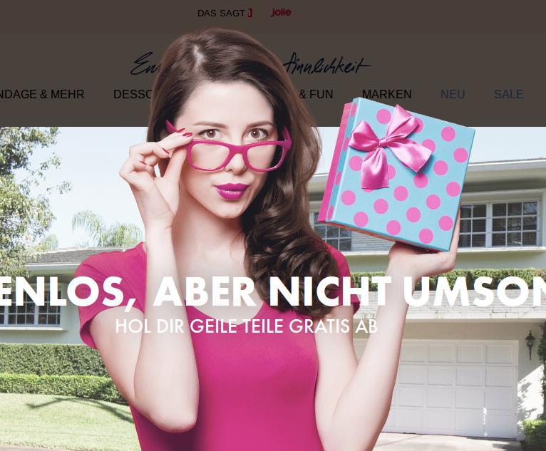 20% Rabatt auf Alles beim Erotik-Discounter Eis Deutschland