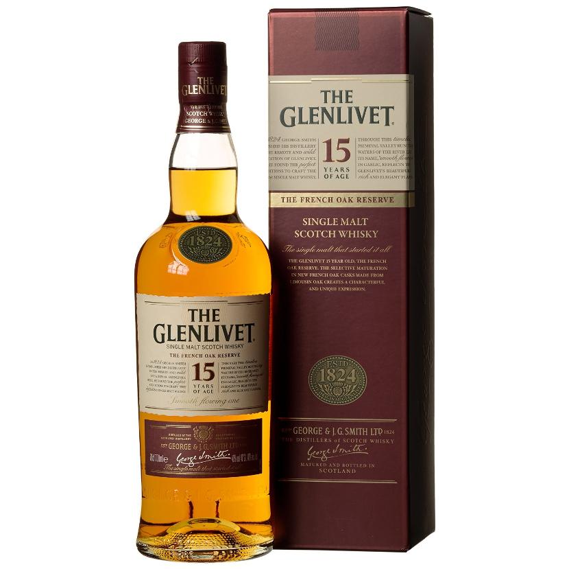 The Glenlivet 15 Jahre Single Malt Scotch Whisky