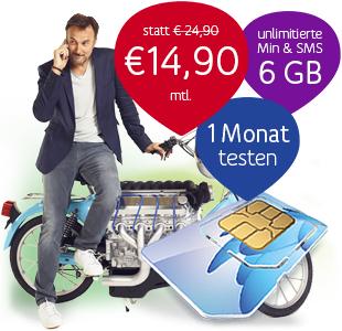 UPC Mobile 1 Monat ausprobieren