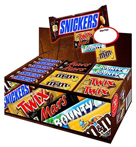 Mars Topsellerbox - 72 Riegel in einer Box! (3,6kg) für nur 30,83€ inkl. Versand