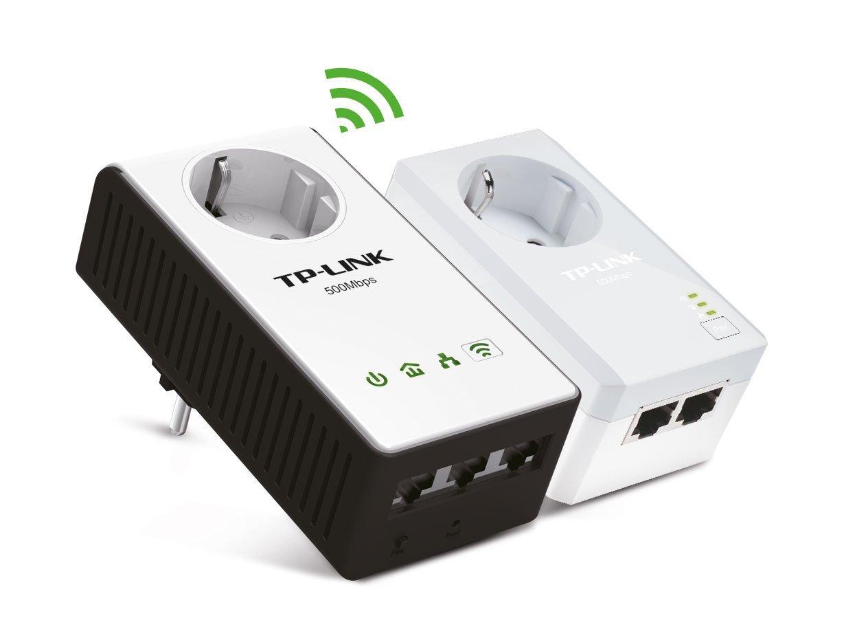 47% Off! Verkauft und Versandt durch Amazon. TP-Link TL-WPA4230P KIT Powerline-Netzwerkadapter (WLAN Repeater, integrierte Steckdose, 500Mbit/s, 3-Port, 2-er Pack)