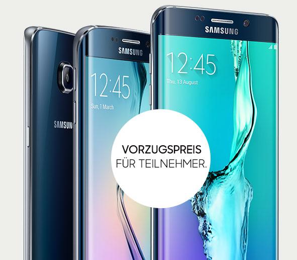 [Samsung] Galaxy S6 edge oder Galaxy S6 edge+ 30 Tage lang testen