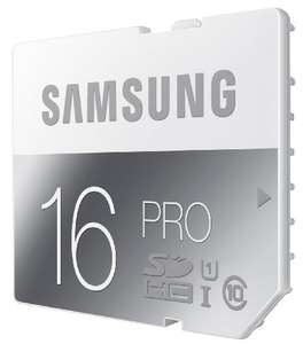 Samsung Pro SDHC (16 oder 32 GB) ab 6,89 € - bis zu 73% sparen