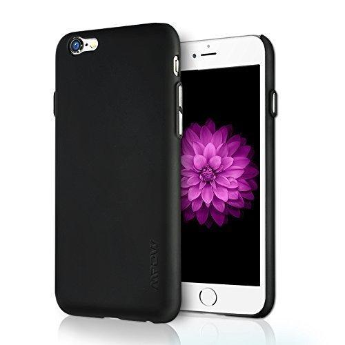 Ultra Slim Anti-Rutsch-Schutz, Kratzfeste Hülle mit schützenden TPU & PC Material für iPhone 6s, Schwarz bei Amazon