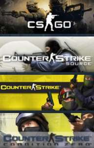 [Steam] Counter-Strike: Complete (inkl CS:GO) um 6,99 € (75% sparen)