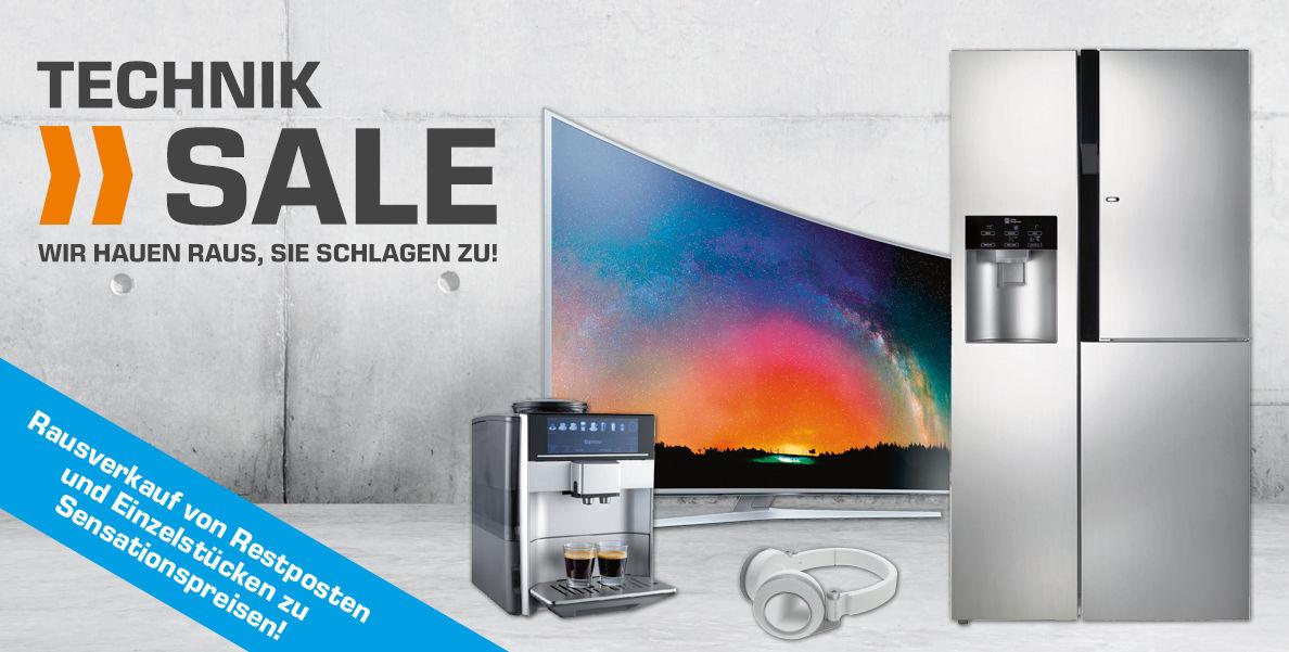 Saturn Technik-Sale - großer Abverkauf von Restposten und Einzelstücken - Lokal & im Online-Shop