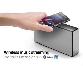 Sony SRS-X55 Bluetooth Lautsprecher, NFC, Bluetooth, + Ladefunktion für Smartphones